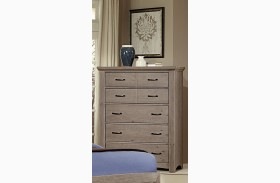 Transitions Driftwood Oak 5 Drawer Chest