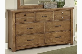 Transitions Dark Oak 7 Drawer Dresser