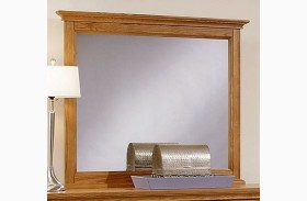 Forsyth Medium Oak Landscape Mirror