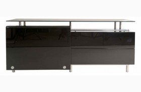 Ritz Black High Gloss Lacquer Bellini Medium Buffet