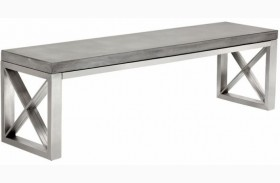 Catalan Concrete Top Bench