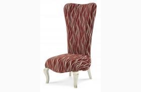 Beverly Boulevard Platinum Armless Chair