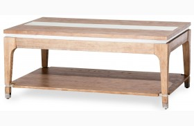 Biscayne West Sand Rectangular Cocktail Table
