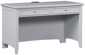 Bonanza Gray 2 Drawer Laptop/Tablet Desk