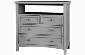 Bonanza Gray 4 Drawer Media Unit