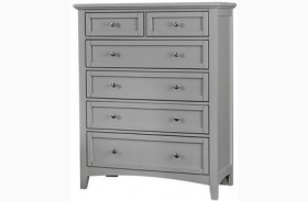 Bonanza Gray 5 Drawer Chest