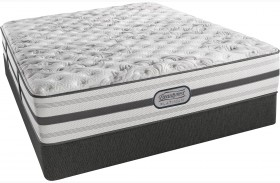 BeautyRest Recharge Platinum Abracadabra Tight Top Extra Firm Queen Size Mattress with Foundation