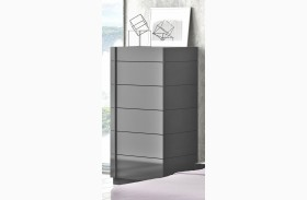 Braga Natural Grey Lacquer Chest