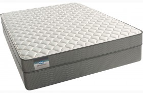 BeautySleep Abner Cay Tight Top Firm Twin XL Size Mattress with Foundation