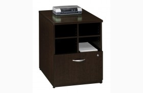 Series C Mocha Cherry 24 Inch Storage Unit