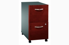 Series C Hansen Cherry Mobile Pedestal