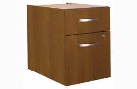 Series C Warm Oak 3/4 Pedestal