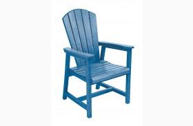 Generations Blue Adirondack Dining Arm Chair