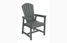 Generations Slate Adirondack Dining Arm Chair