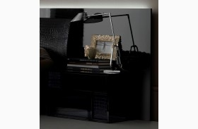 Nightfly Black Right Nightstand