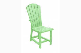 Generations Lime Green Adirondack Dining Side Chair