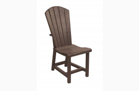 Generations Chocolate Adirondack Dining Side Chair