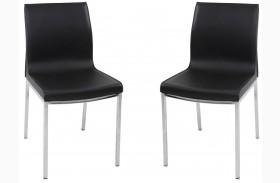 C208 Modern Grey Dining Chair Set of 2