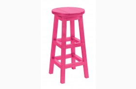 Generation Fuschia Swivel Bar Stool