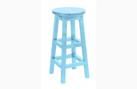 Generation Aqua Swivel Bar Stool