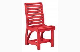 St Tropez Red Dining Side Chair