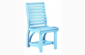 St Tropez Aqua Dining Side Chair
