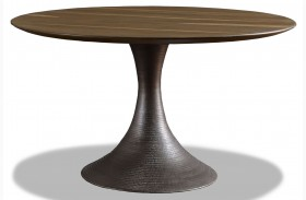 Casablanca Sepia Round Dining Table