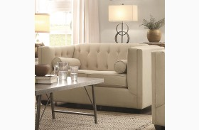 Cairns Oatmeal Loveseat