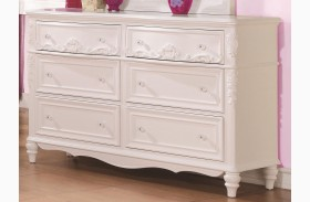 Caroline Decorative 6 Drawer Dresser