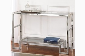 Churchill Glass Top Sofa Table