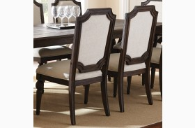 Cayden Natural Cotton Linen Side Chair Set of 2