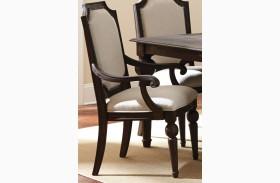 Cayden Natural Cotton Linen Arm Chair Set of 2