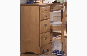 Common Sense Salem Maple 4 Drawer Desk