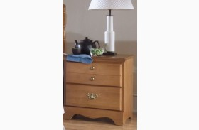 Common Sense Salem Maple 2 Drawer Nightstand