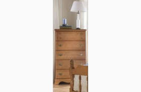 Common Sense Salem Maple 5 Drawer Chest