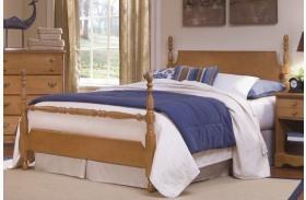 Common Sense Salem Maple Full Poster Bed