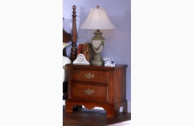 Carolina Classic Cherry 2 Drawer Nightstand