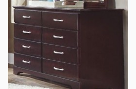 Signature Espresso 8 Drawer Tall Dresser