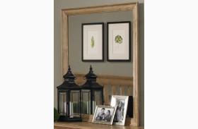 Sterling Clear Oak Landscape Mirror