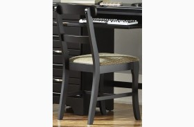 Platinum Black Chair Set of 2