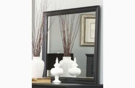 Platinum Black Landscape Mirror