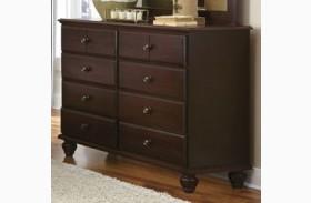 Carolina Craftsman Espresso Tall Dresser