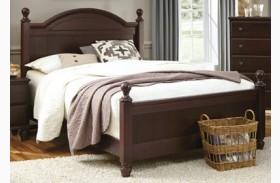 Carolina Craftsman Espresso Queen Panel Bed