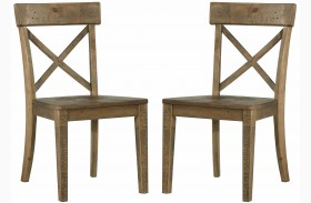 Trishley Brown Dining Side Chair Set of 2
