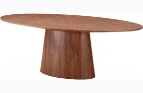 Chelsea Walnut Oval Dining Table
