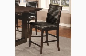 Chester Upholstered Counter Height Chair Set of 2