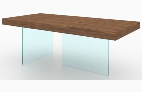 Elm Chestnut Rectangular Dining Table