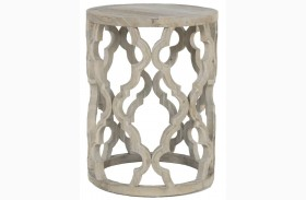 Clover Smoke Gray End Table
