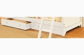Chesapeake White Underbed Drawers