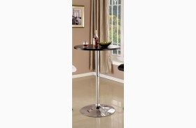 Nessa Black Bar Table